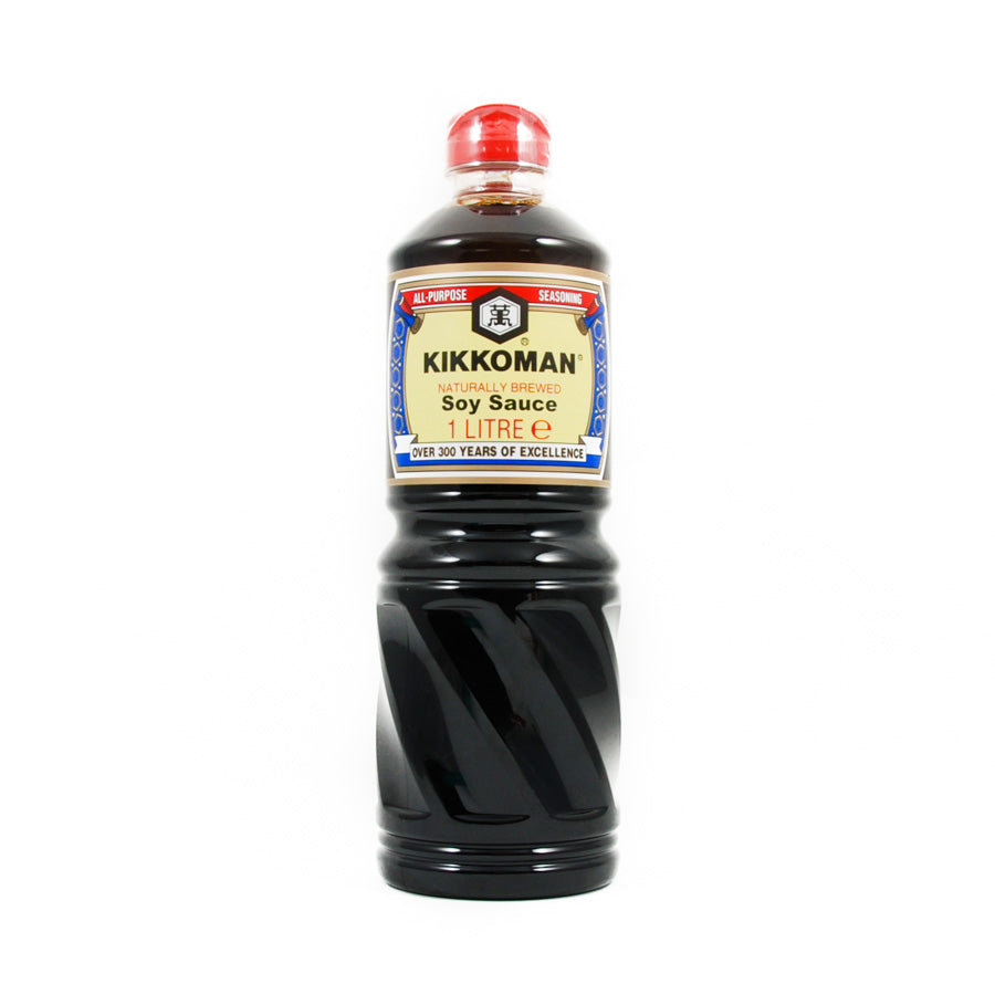 Kikkoman Soy Sauce 1l Ingredients Sauces & Condiments Asian Sauces & Condiments Japanese Food