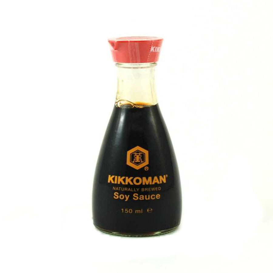 Kikkoman Soy Sauce - Pouring Pot 150ml Ingredients Sauces & Condiments Asian Sauces & Condiments Japanese Food