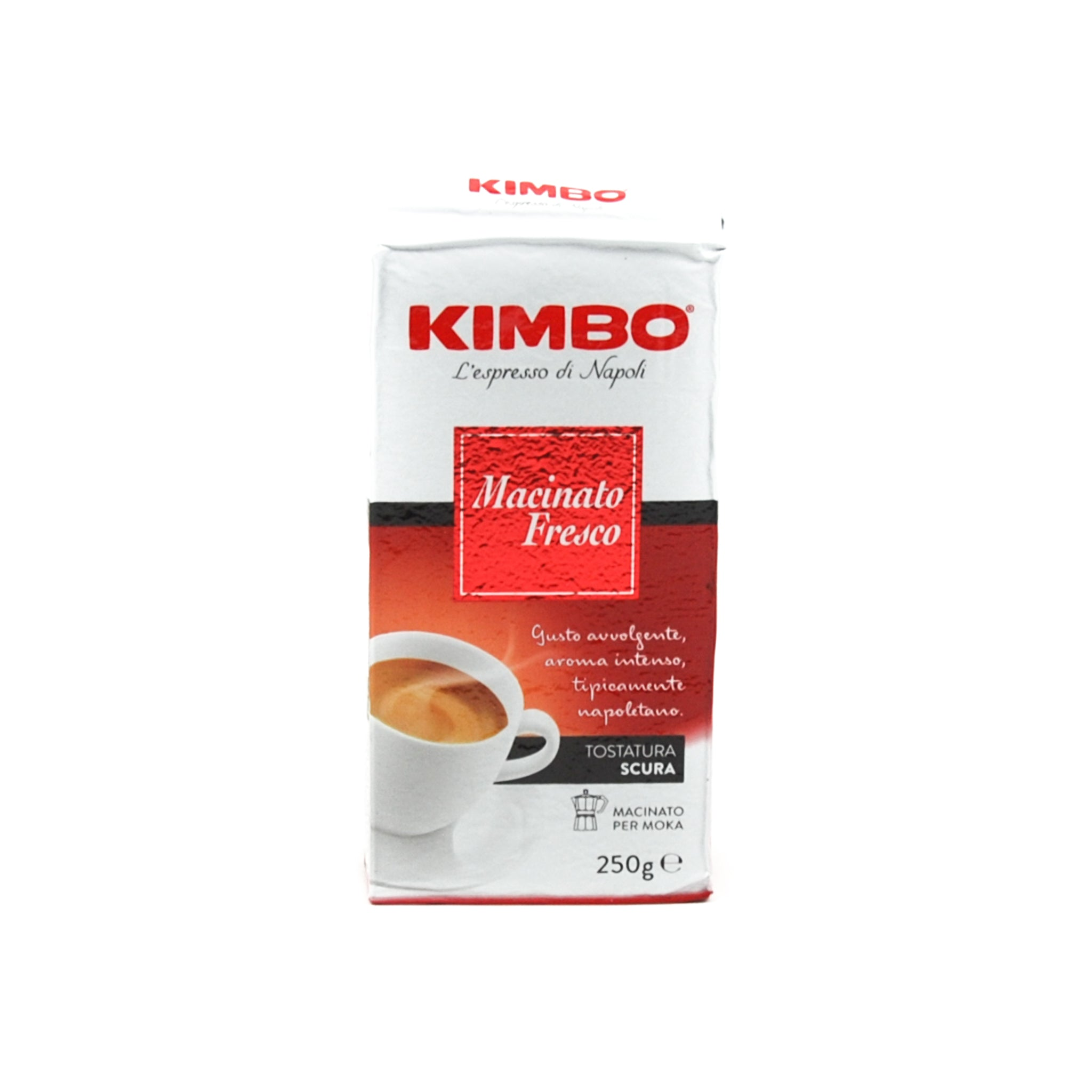 Kimbo Macinato Fresco Classico Coffee 250g Ingredients Drinks Tea & Coffee Italian Food