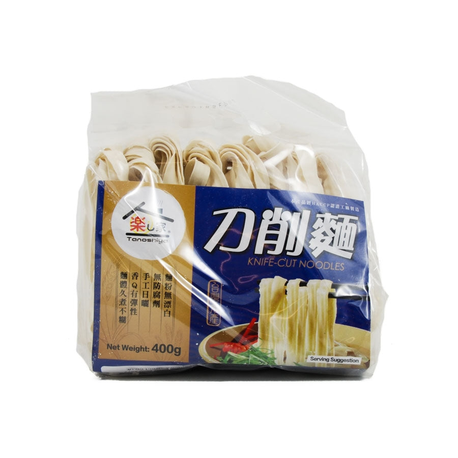 Tanoshiya Knife-cut Noodles 400g Ingredients Pasta Rice & Noodles Noodles