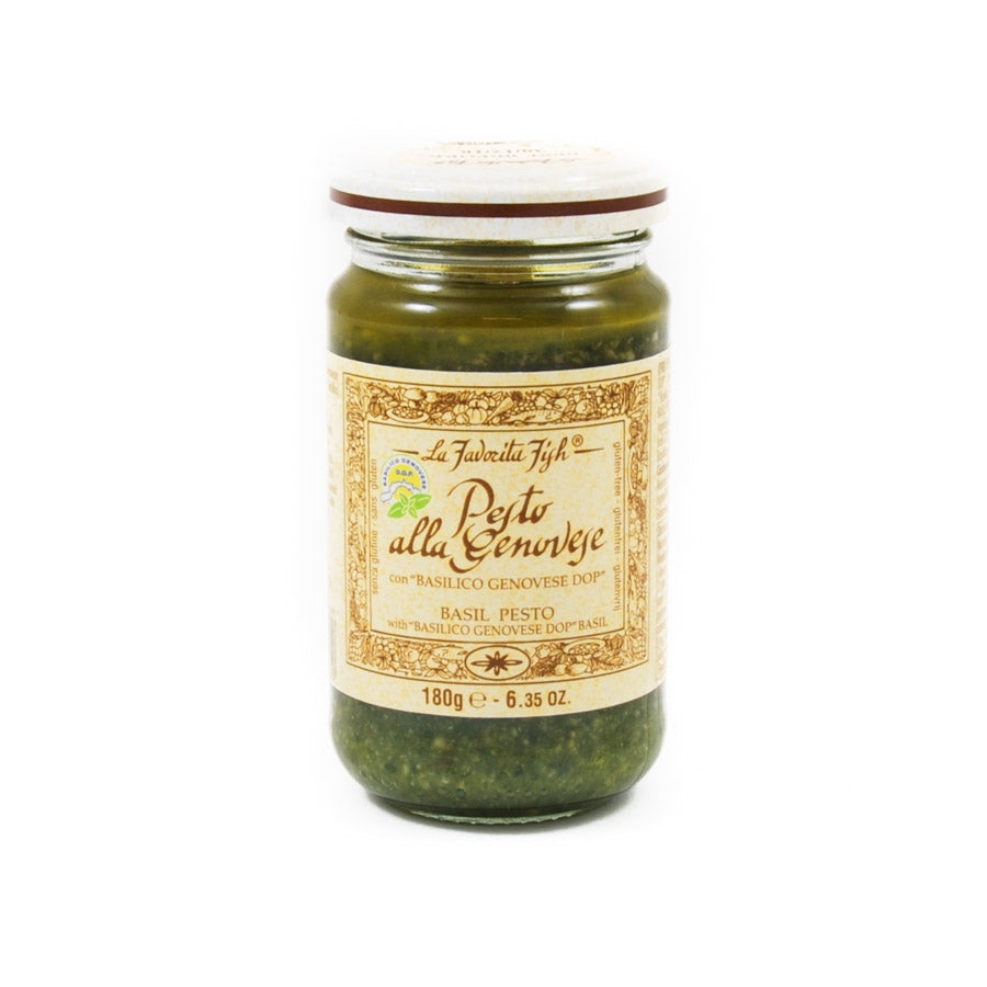 La Favorita Pesto With Genovese Basil DOP 180g