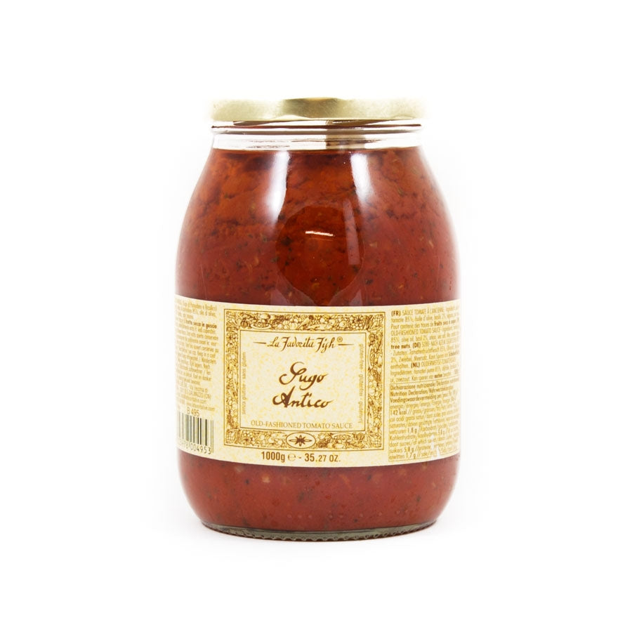 La Favorita Old Fashioned Tomato Sauce 1kg Ingredients Sauces & Condiments Italian Food