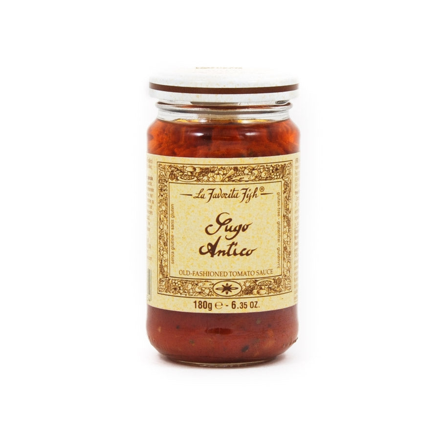La Favorita Old Fashioned Tomato Sauce 180g Ingredients Sauces & Condiments Italian Food