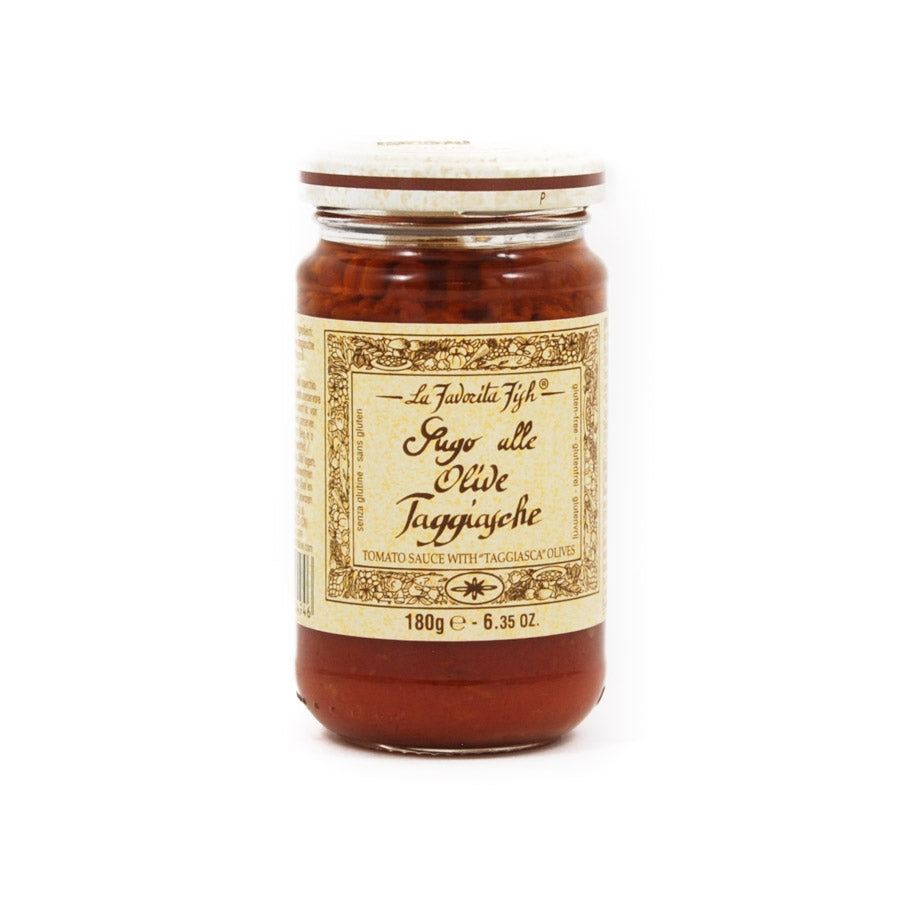 La Favorita Tomato Sauce With Taggiasca Olives 180g Ingredients Sauces & Condiments Italian Food