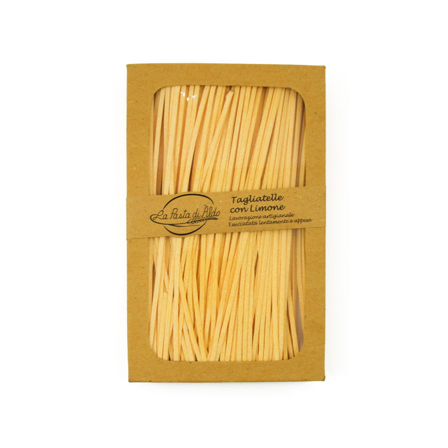 Pasta di Aldo Pasta Di Aldo Tagliatelle Egg Pasta with Lemon 250g Ingredients Pasta Rice & Noodles Pasta Italian Food