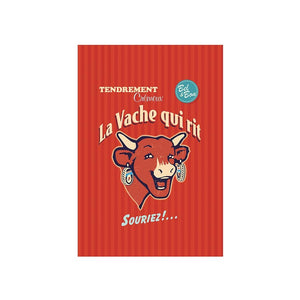 French Tea Towel - La Vache Qui Rit