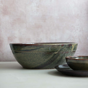 Lagoa Large Handmade Salad Bowl