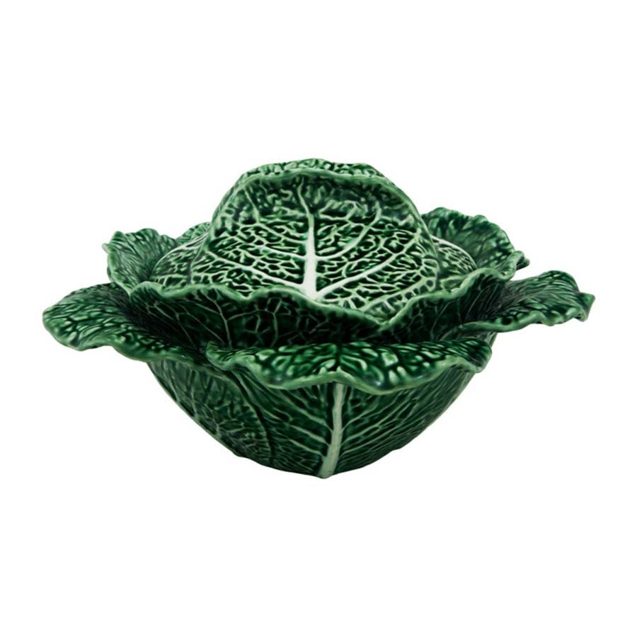 Bordallo Pinheiro Large Cabbage Leaf Tureen 2 litre Tableware