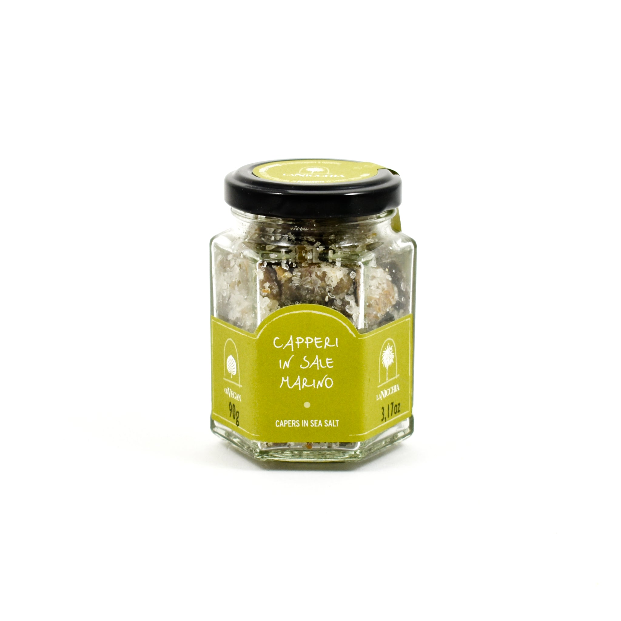 La Nicchia Big Salted Capers 90g Ingredients Pickled & Preserved Vegetables Italian Food