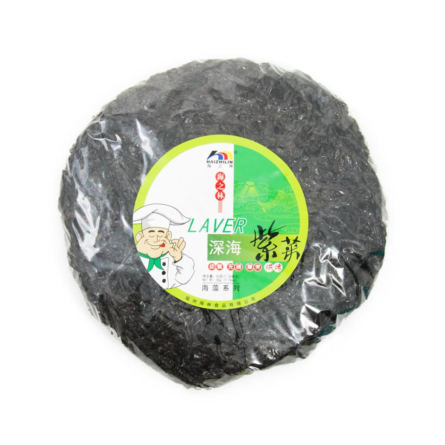 Chinese Ingredients Roasted Seaweed - Laver 50g Ingredients Seaweed Squid Ink Fish Chinese Food