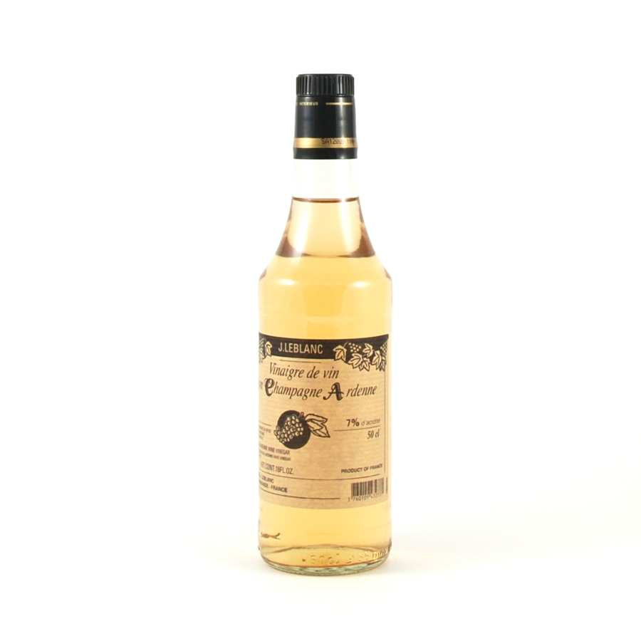 J Le Blanc Champagne Vinegar 500ml Ingredients Oils & Vinegars French Food