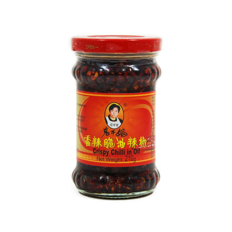 LGM Crispy Chilli in Oil 210g Ingredients Sauces & Condiments Asian Sauces & Condiments Chinese Food