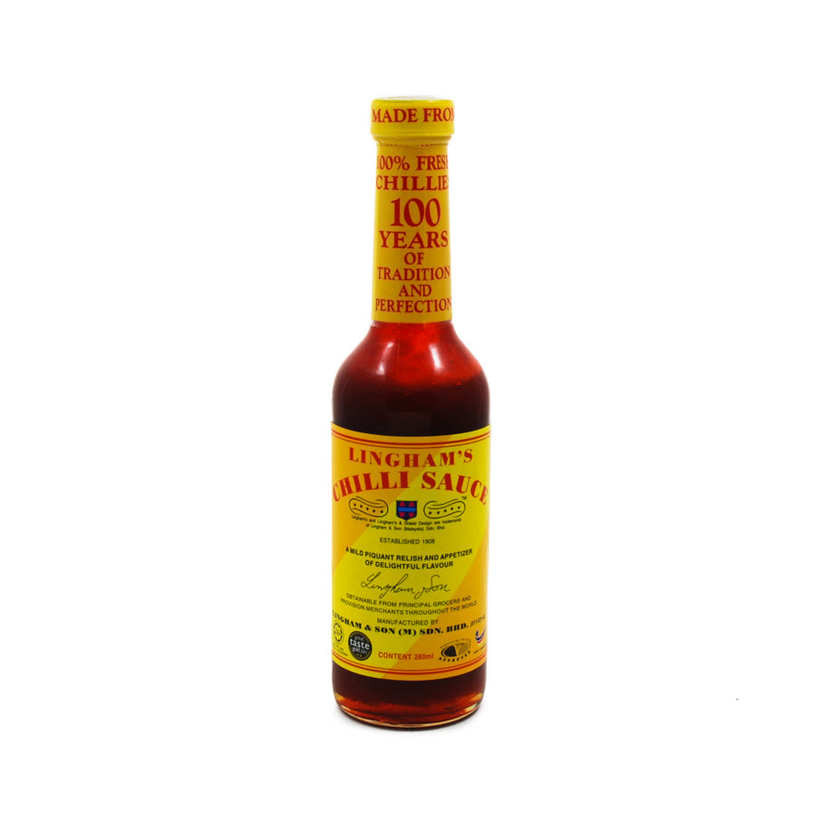 Lingham's Original Sweet Chilli Sauce 280ml Ingredients Sauces & Condiments Asian Sauces & Condiments