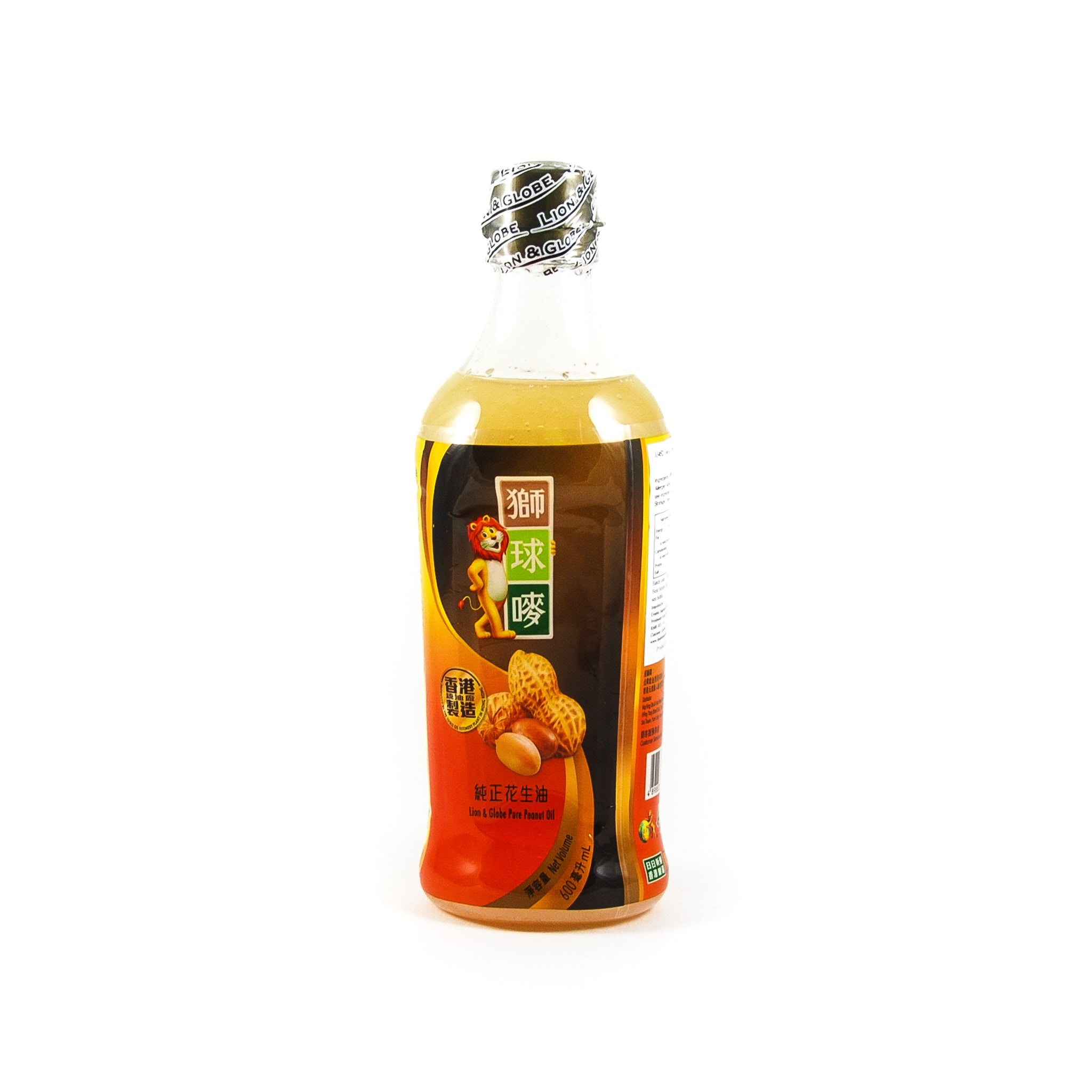 Lion Peanut Oil 600ml Ingredients Oils & Vinegars