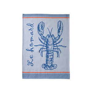 French Tea Towel - Lobster
