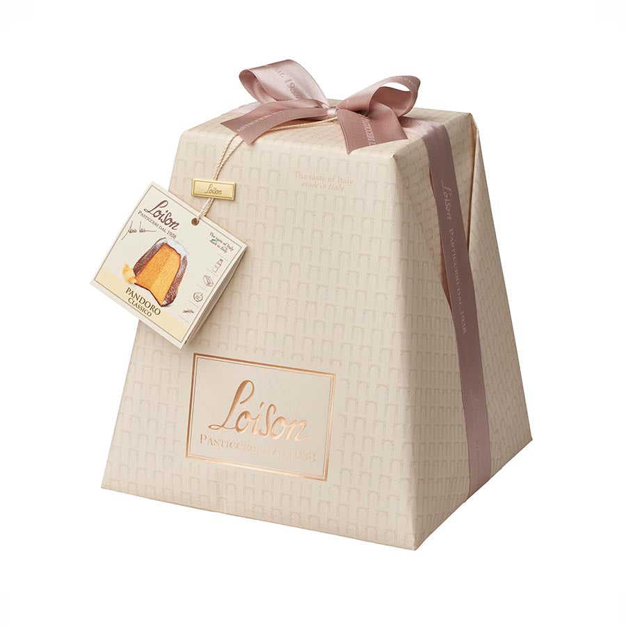 Loison Classic Handwrapped Pandoro 1kg Ingredients Chocolate Bars & Confectionery Italian Food Panettone & Pandoro