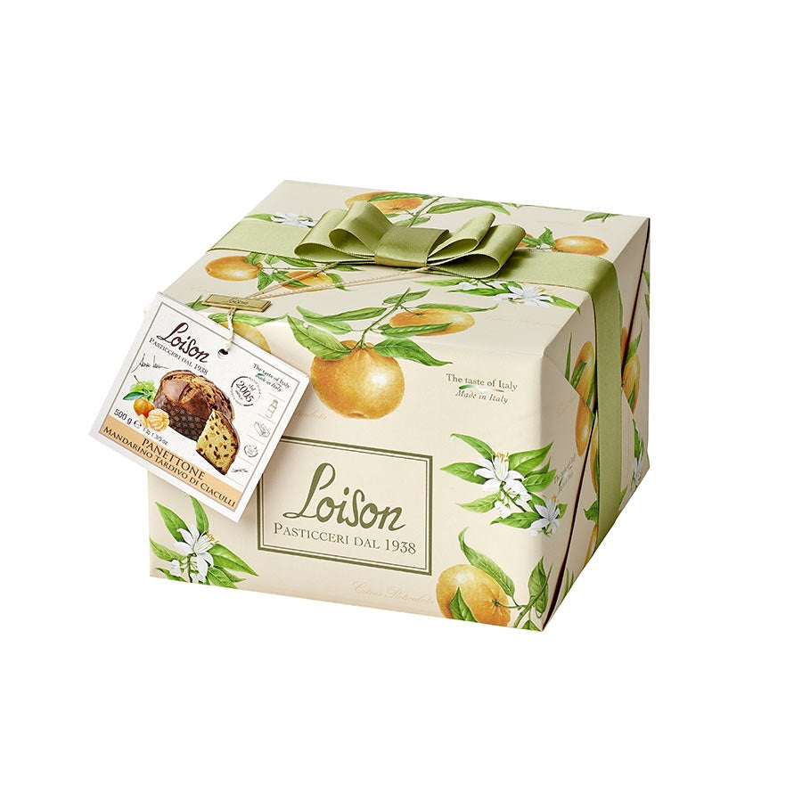 Loison Panettone with Ciaculli Mandarin 500g Ingredients Chocolate Bars & Confectionery Italian Food Panettone & Pandoro