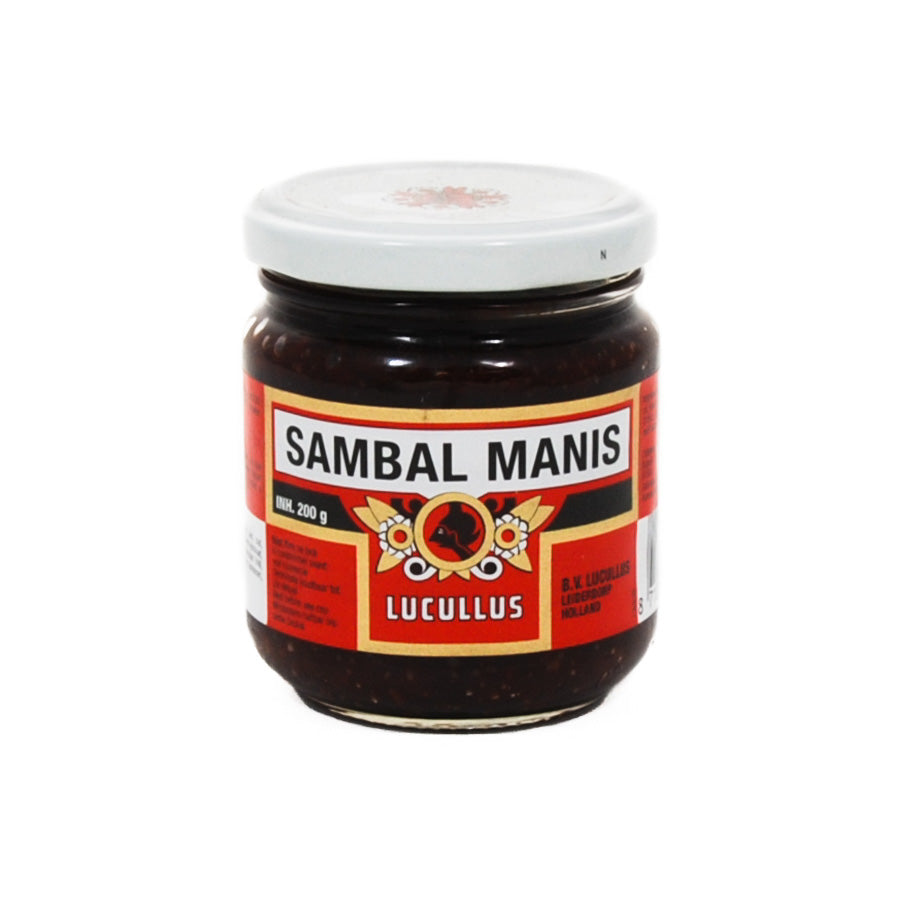Lucullus Sambal Manis 200g Ingredients Sauces & Condiments Asian Sauces & Condiments Southeast Asian Food