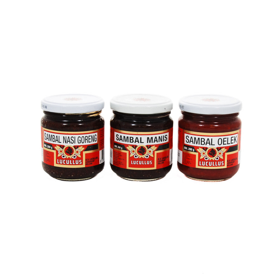 Lucullus Sambal Oelek 200g Ingredients Sauces & Condiments Asian Sauces & Condiments