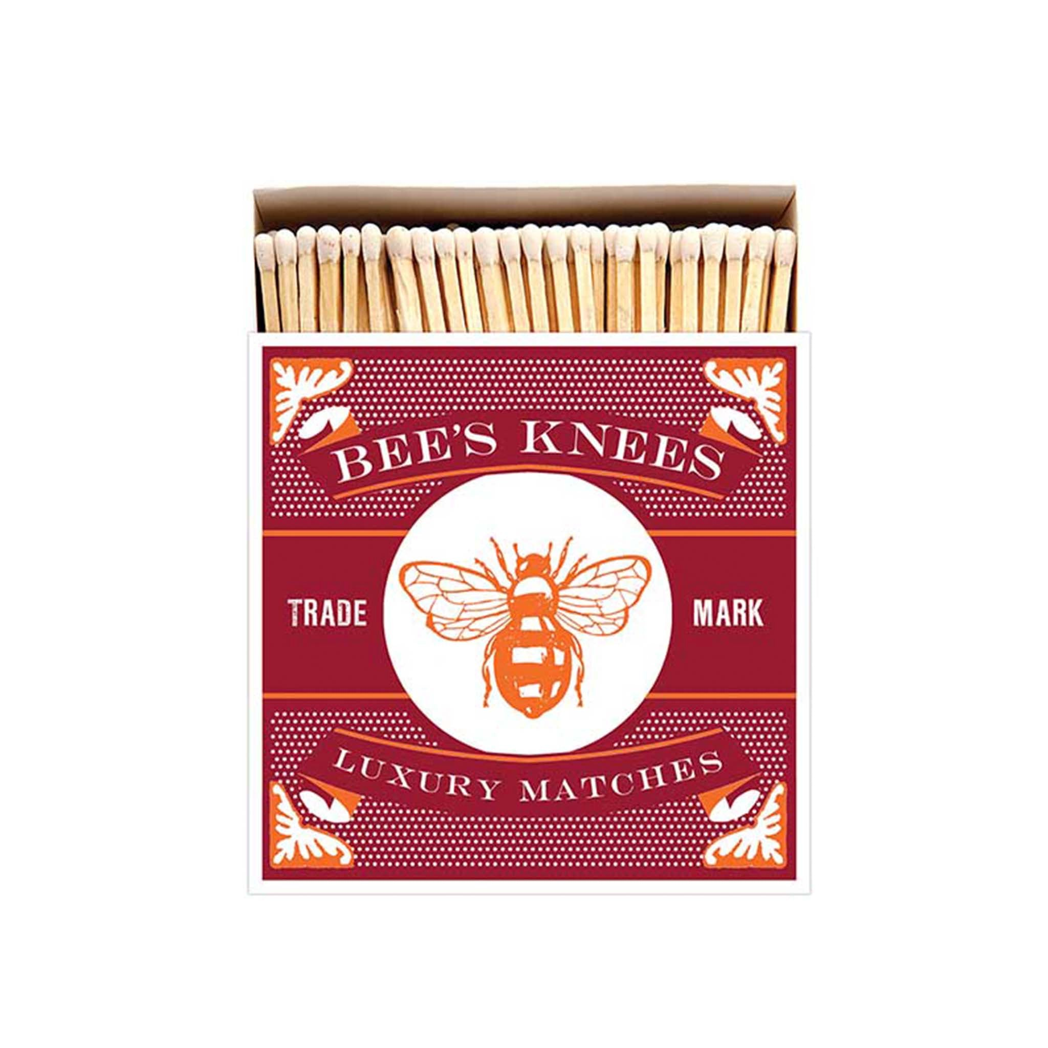 Archivist Bee's Knees Luxury Safety Matches Cookware Household & Cleaning