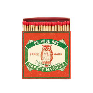 Owl Luxury Safety Matches