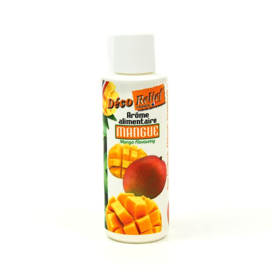 Deco Relief Concentrated Mango Flavour 125ml Ingredients Flavours & Colours French Food