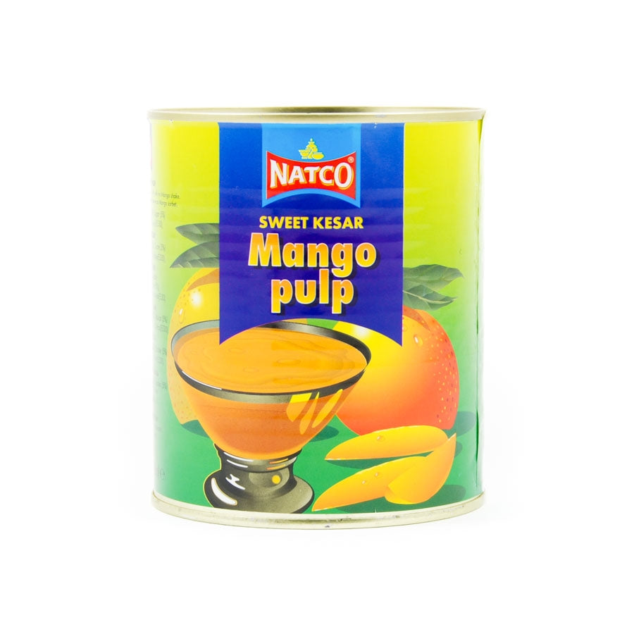 Natco Kesar Mango Pulp 850g Ingredients Drinks Syrups & Concentrates Indian Food