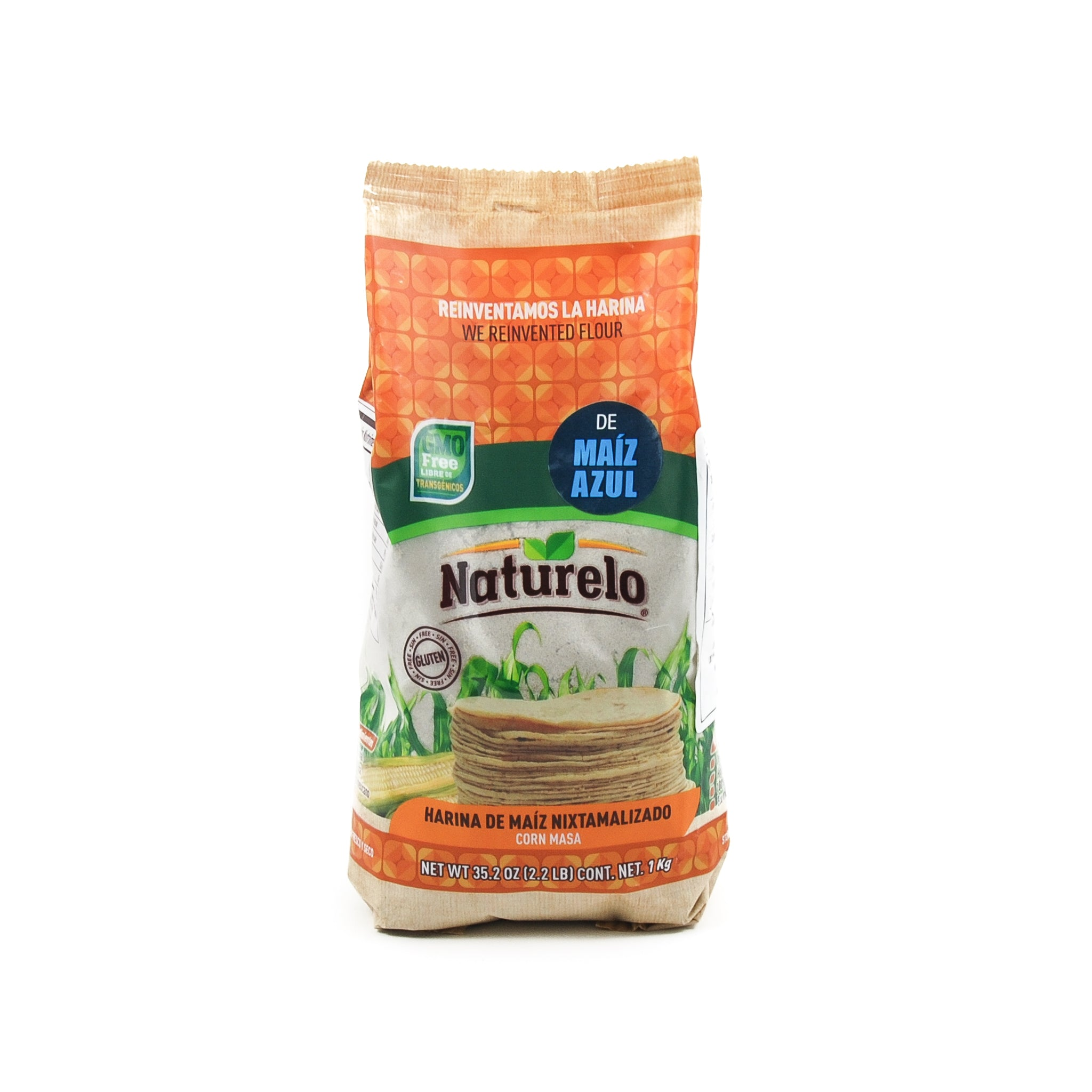 Naturelo Blue Masa Harina 1kg Ingredients Flour Grains & Seeds