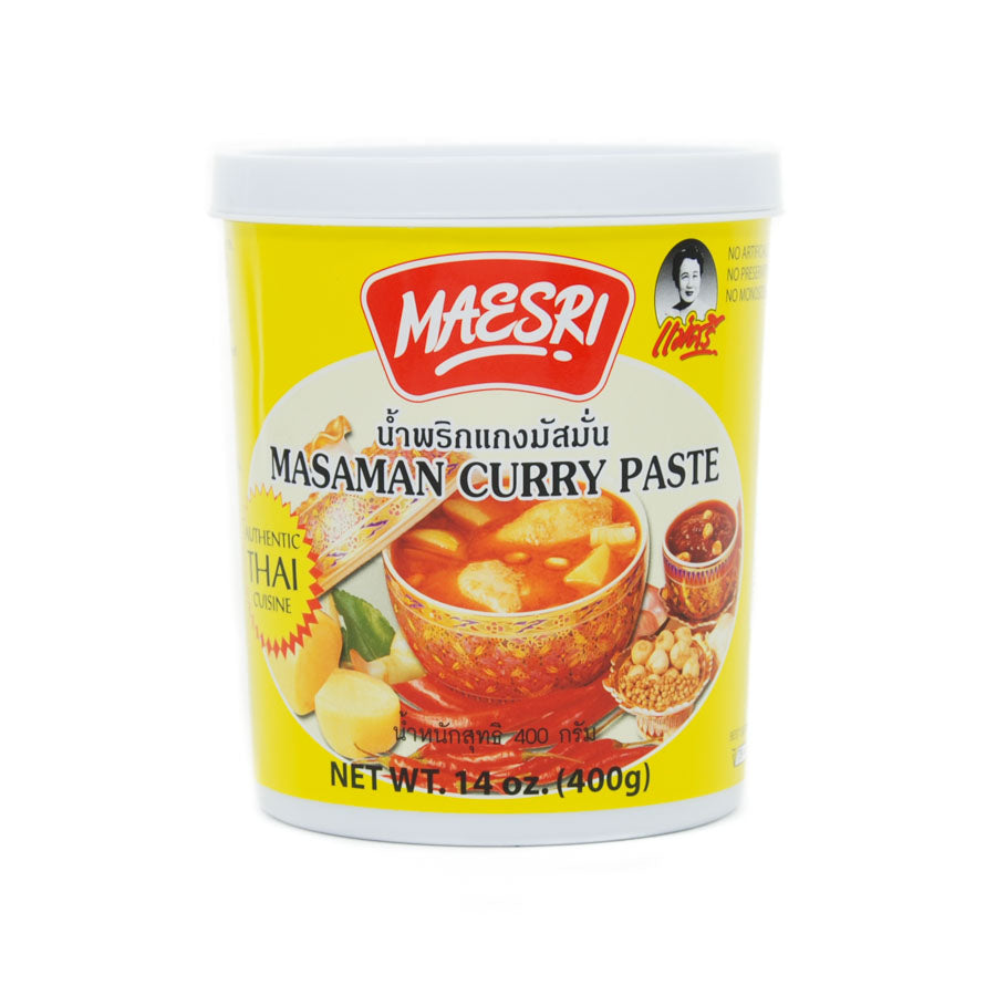 Mae Sri Thai Masaman Curry Paste 400g Ingredients Sauces & Condiments Asian Sauces & Condiments Southeast Asian Food