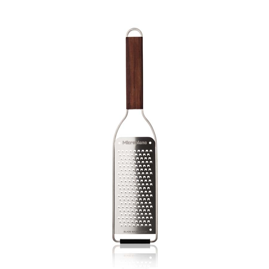Master Series Walnut Microplane Gourmet Coarse Grater Cookware Kitchen Utensils