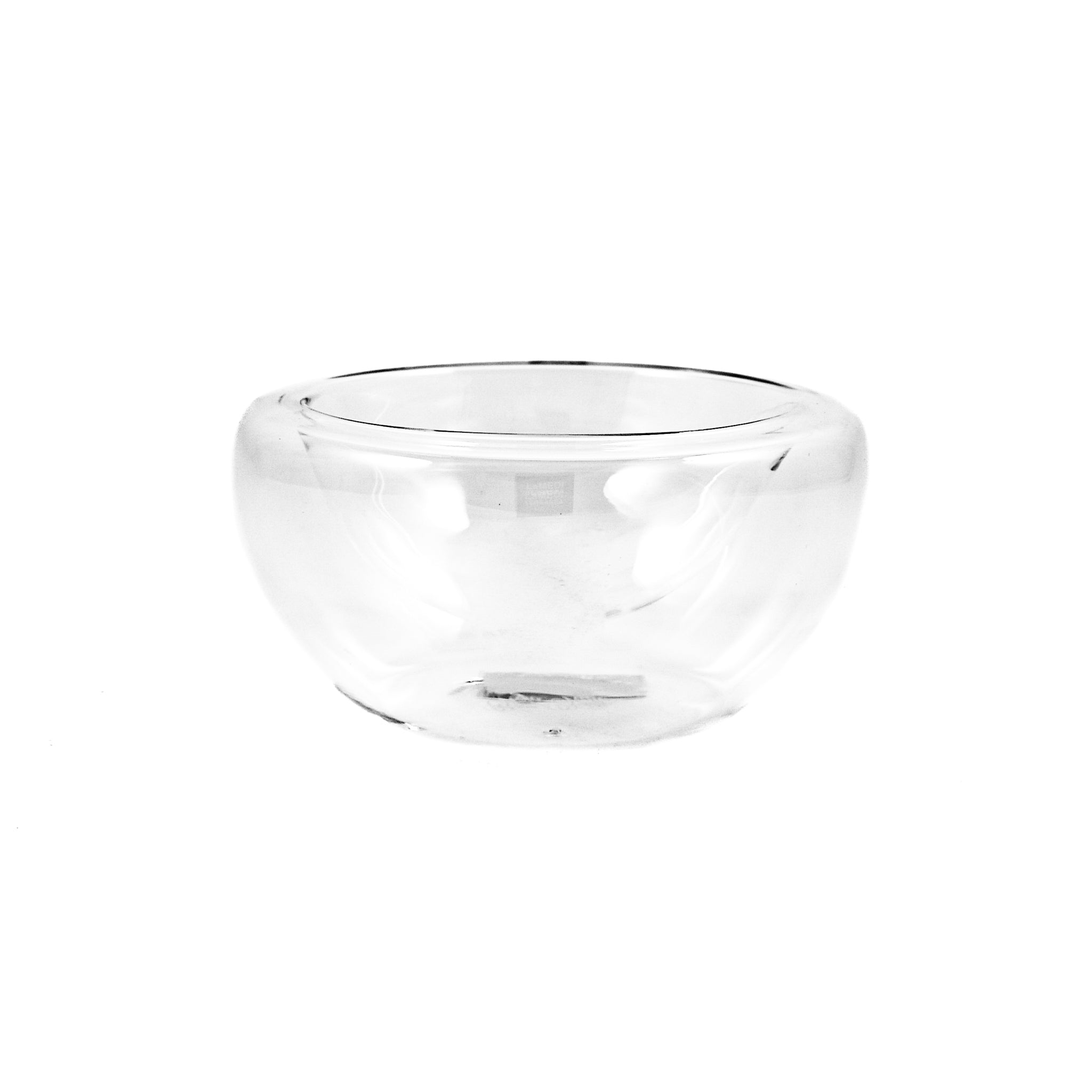 Portuguese Tableware Medium Double-Walled Glass Bowl x 3 170ml Tableware Jugs & Glassware