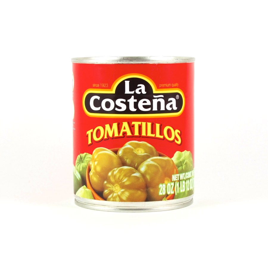 La Costena Whole Tomatillos 790g Ingredients Pickled & Preserved Vegetables Mexican Food