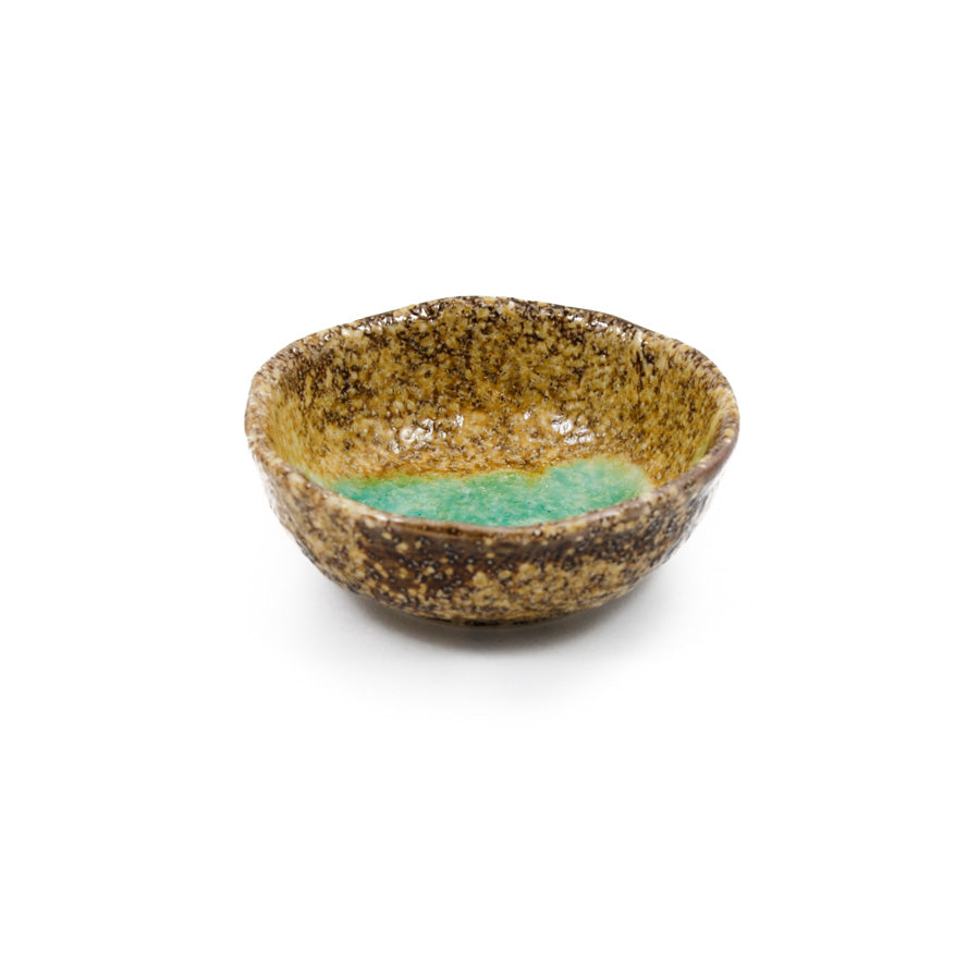 Kiji Stoneware & Ceramics Midori Soy Sauce & Pickle Bowl 7cm dia Tableware Japanese Tableware Japanese Food
