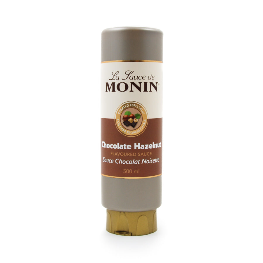 Monin Chocolate Hazelnut Flavour Sauce 500ml Ingredients Drinks Syrups & Concentrates French Food