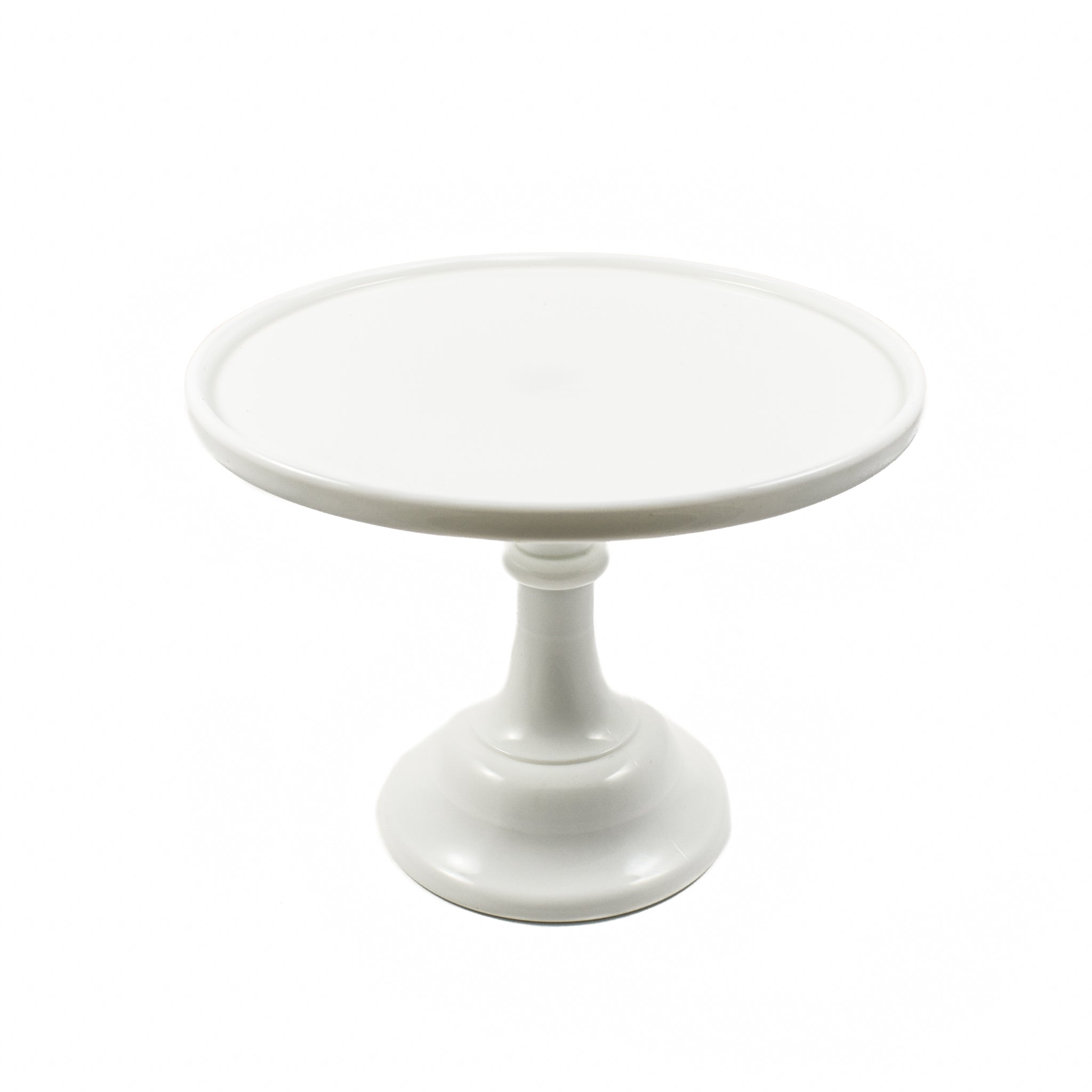 Mosser Glass Cake Stand In Milk White Buy Online Today At Sous Chef Uk