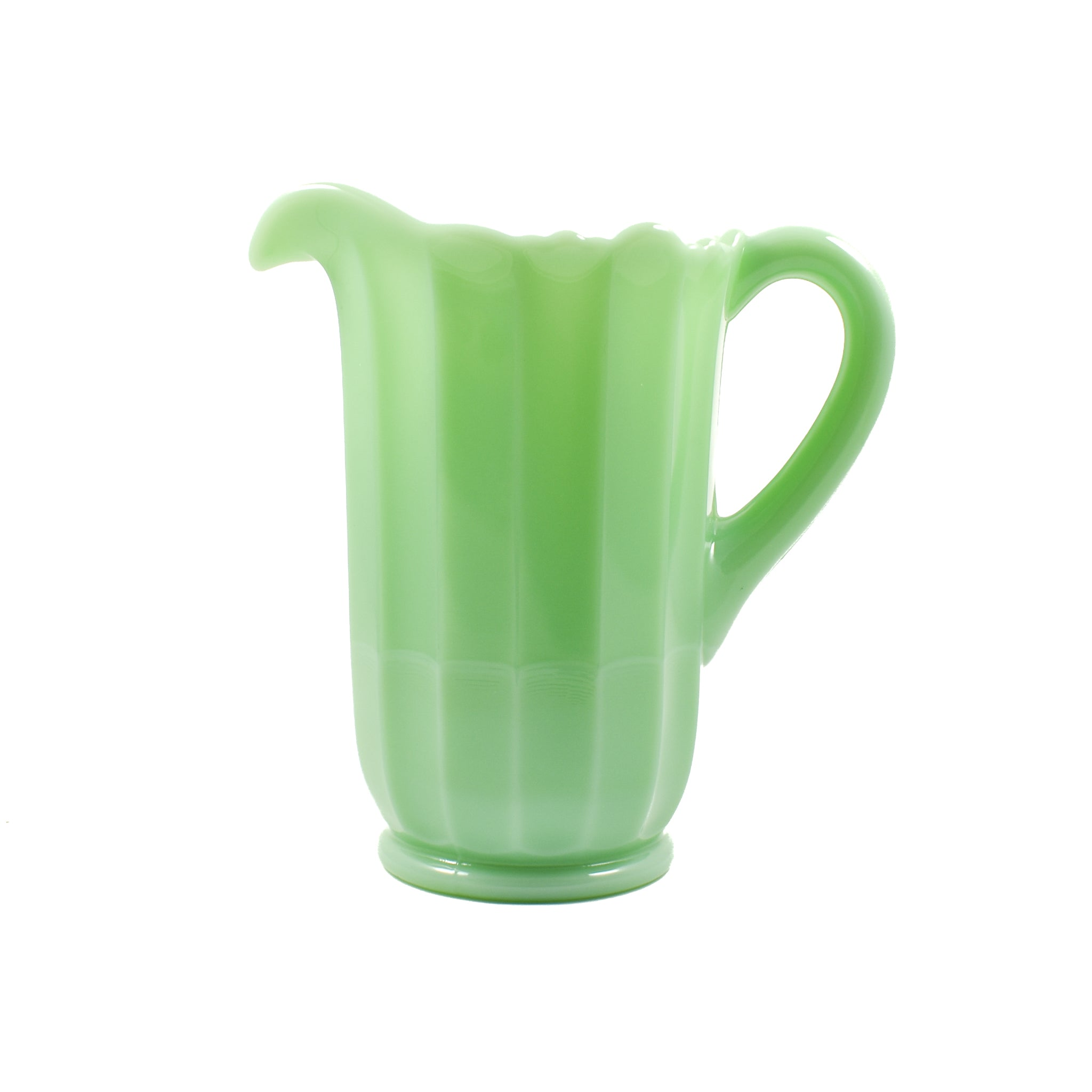 Mosser Glass Jade Milk Glass Pitcher Tableware Jugs & Glassware