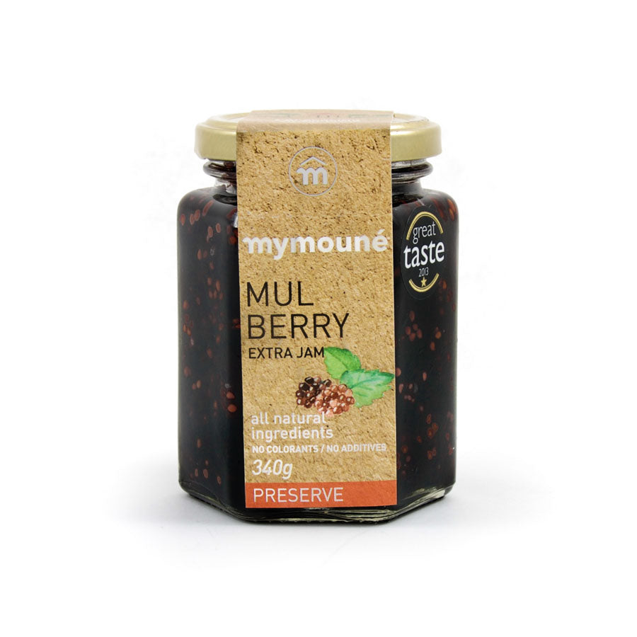 Mymoune Mulberry Preserve 340g Ingredients Jam Honey & Preserves Middle Eastern Food
