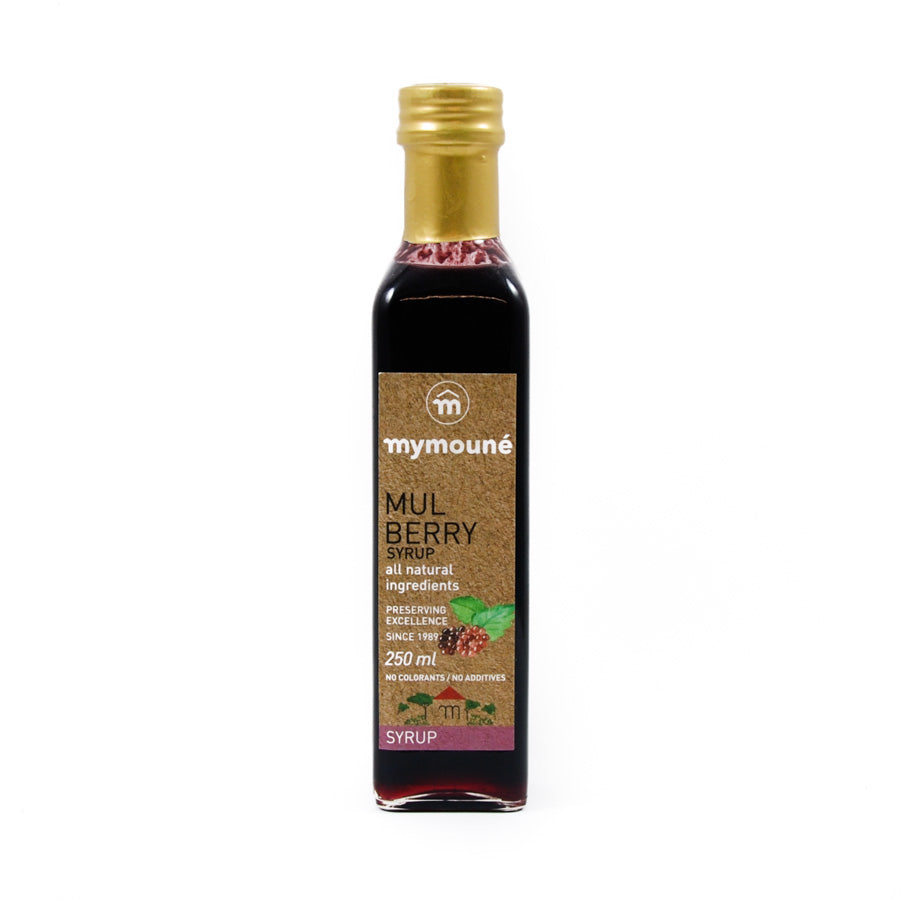 Mymoune Mulberry Syrup 250ml Ingredients Drinks Syrups & Concentrates Middle Eastern Food