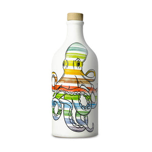 Intense Fruity Extra Virgin Olive Oil in Octopus Terracotta Bottle