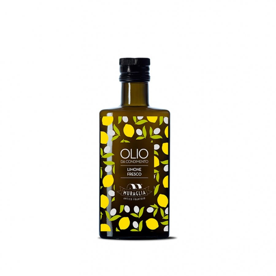 Frantoio Muraglia Aromatic Lemon Extra Virgin Olive Oil 200ml Ingredients Oils & Vinegars Italian Food