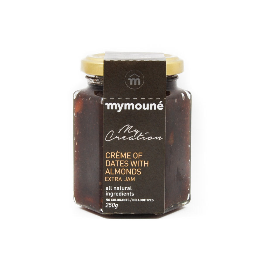Mymoune 'Oasis' Creme of Dates & Almonds 250g Ingredients Sauces & Condiments Middle Eastern Food