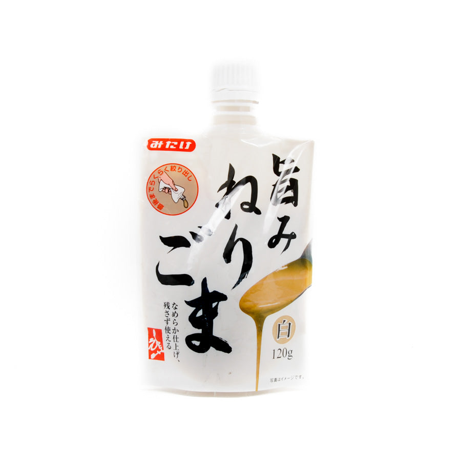 Mitake Umami Nerigoma Shiro - White Sesame Paste 120g Ingredients Sauces & Condiments Asian Sauces & Condiments Japanese Food