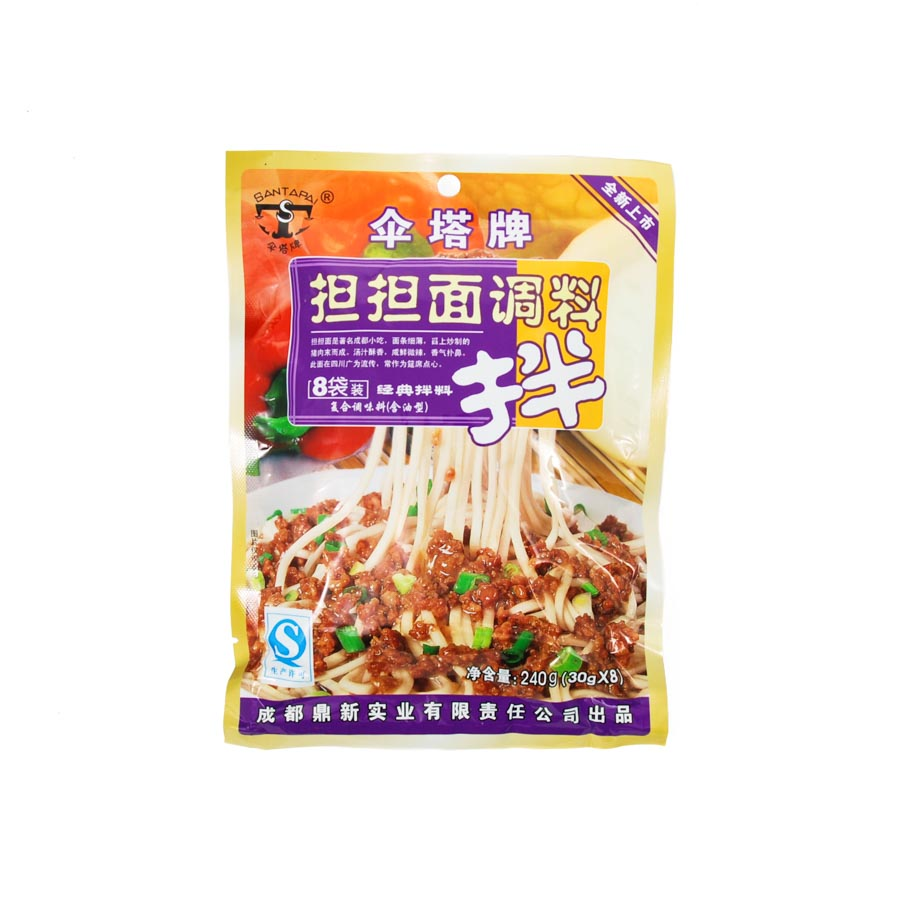 San Sichuan Dan Dan Noodle Sauce 240g Ingredients Sauces & Condiments Asian Sauces & Condiments Chinese Food