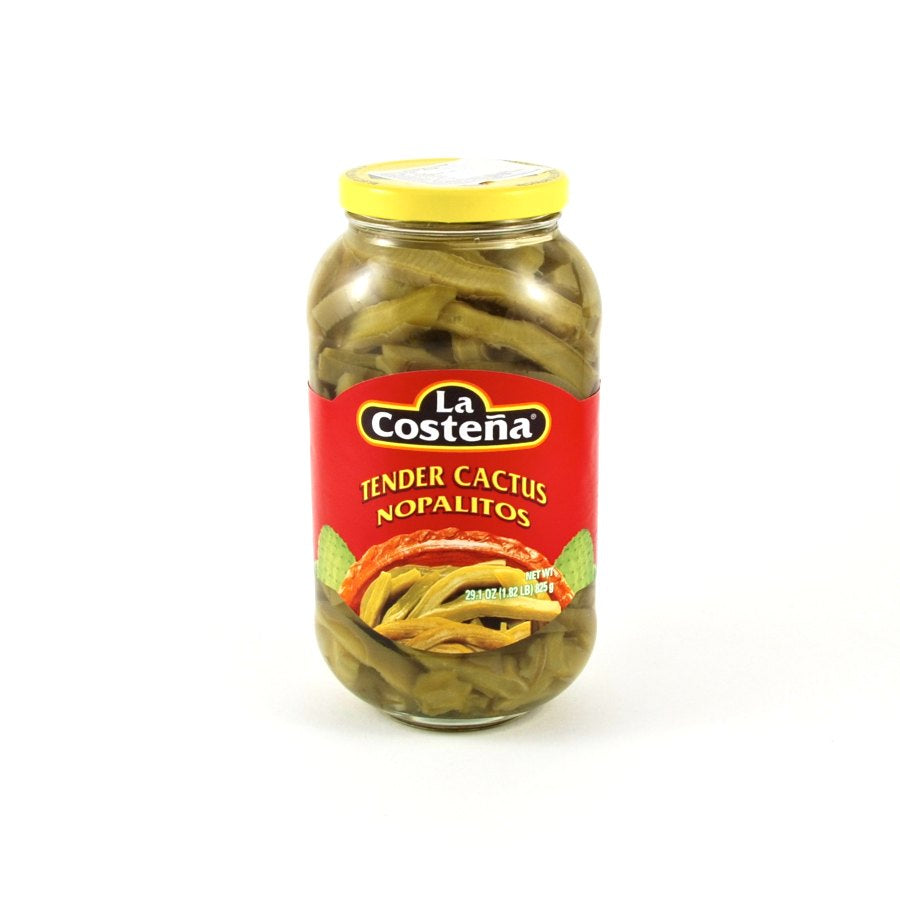 La Costena Cactus 825g Ingredients Pickled & Preserved Vegetables Mexican Food