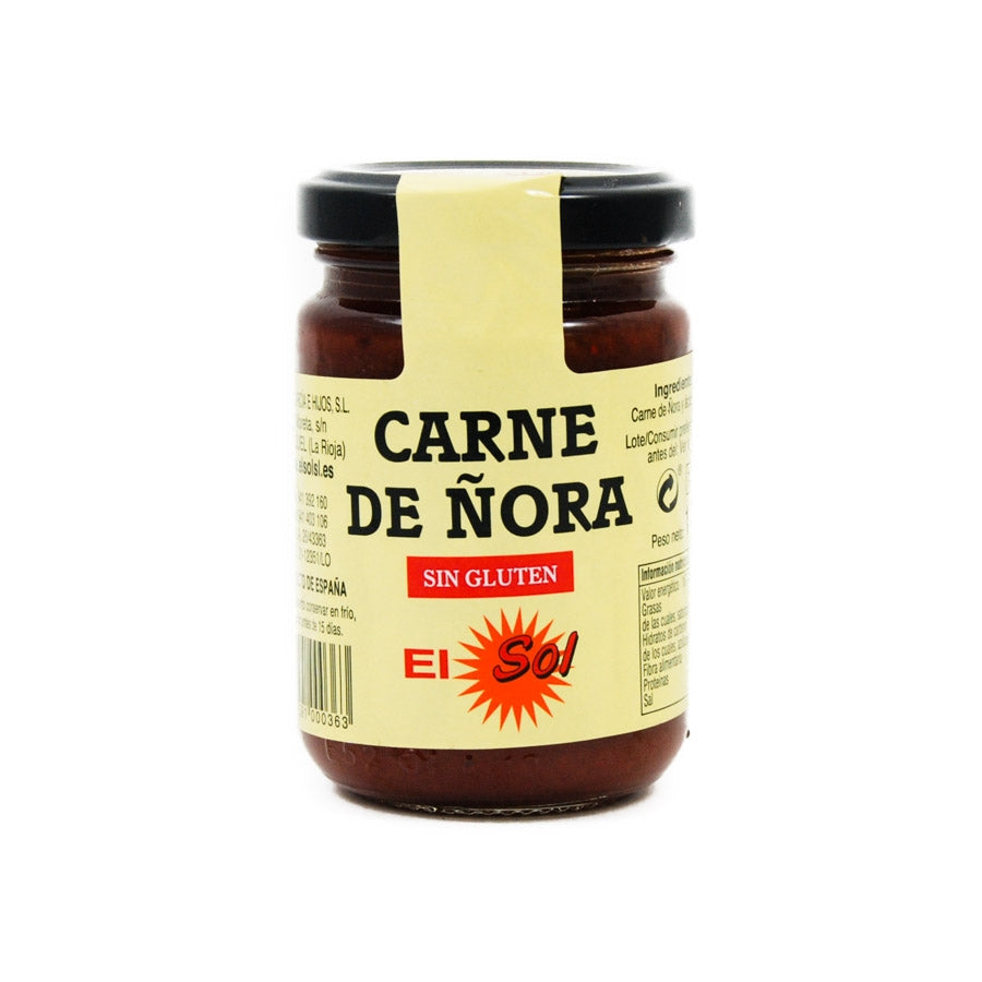 El Sol Nora Pepper Paste 140g Ingredients Sauces & Condiments Spanish Food