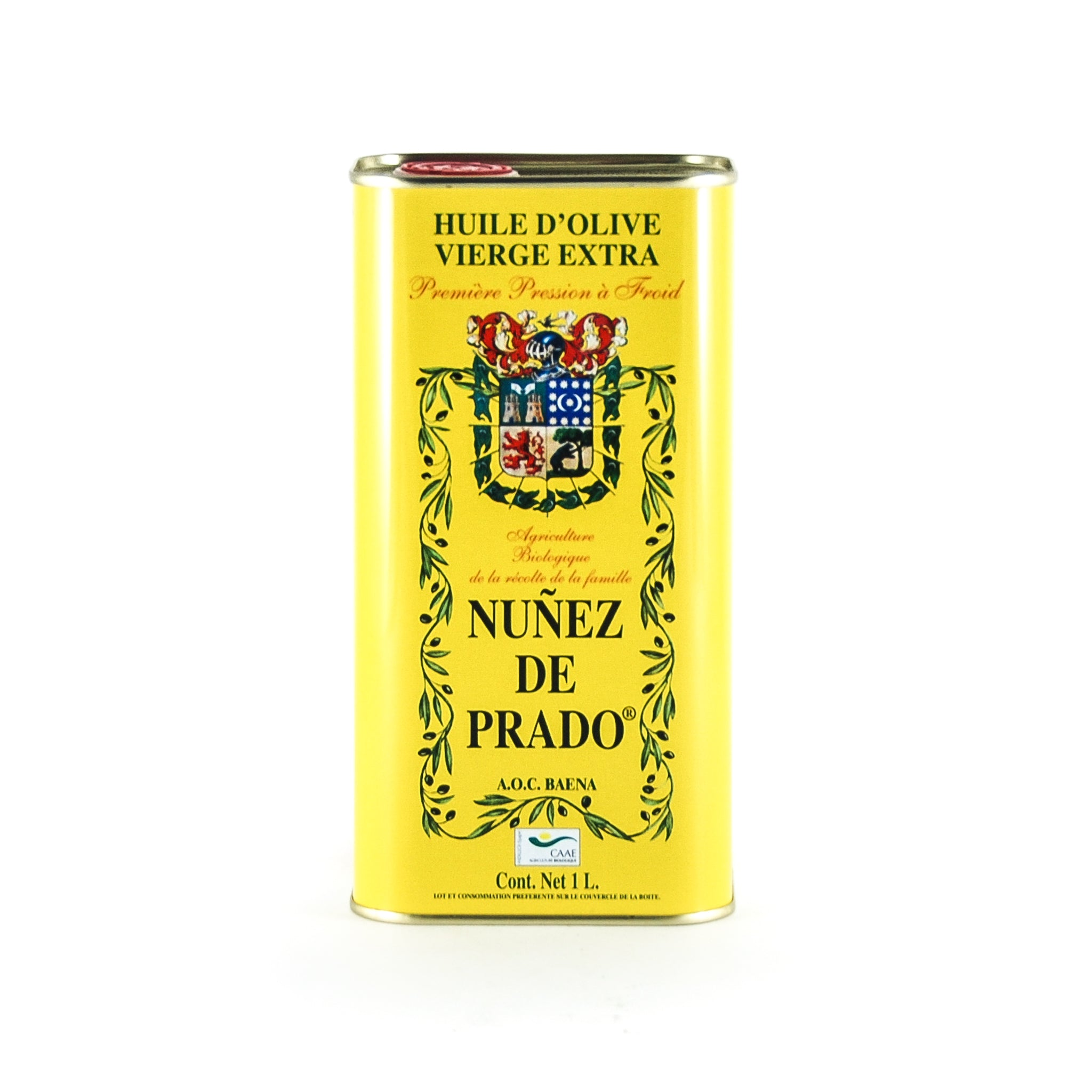 Nunez de Prado Organic Extra Virgin Olive Oil DOP 1 litre Ingredients Oils & Vinegars Spanish Food