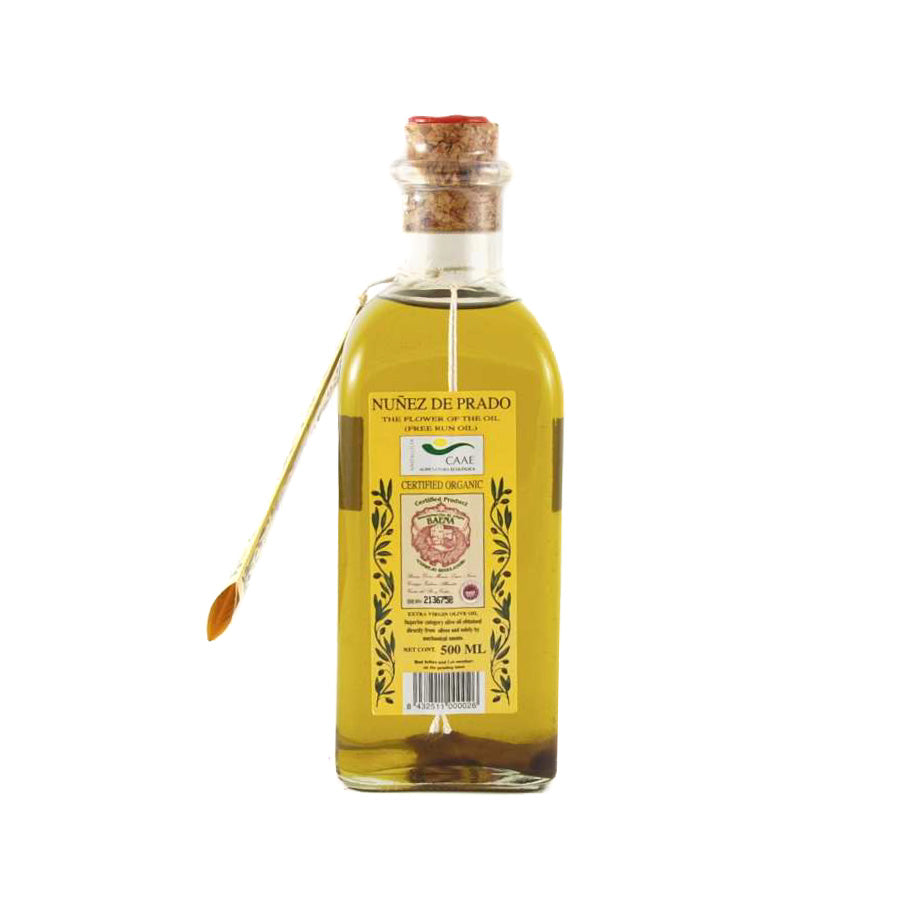 Nunez de Prado Nunez De Prado Organic Olive Oil 500ml Ingredients Oils & Vinegars Spanish Food