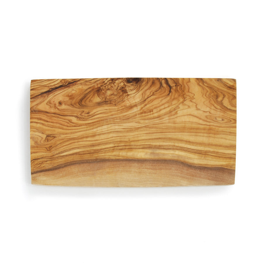 Naturally Med Rectangle Olive Wood Board 30cm x 15cm Tableware Wooden Boards & Chopping Boards