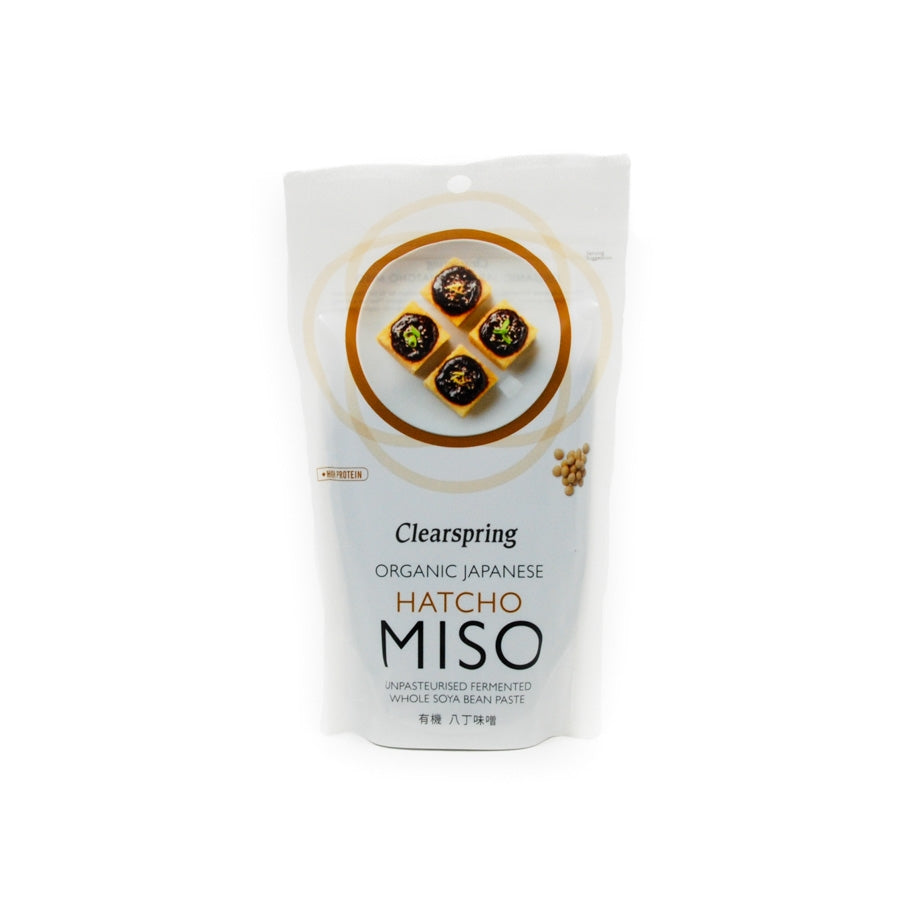 Clearspring Organic Hatcho Miso 300g Ingredients Sauces & Condiments Asian Sauces & Condiments Japanese Food
