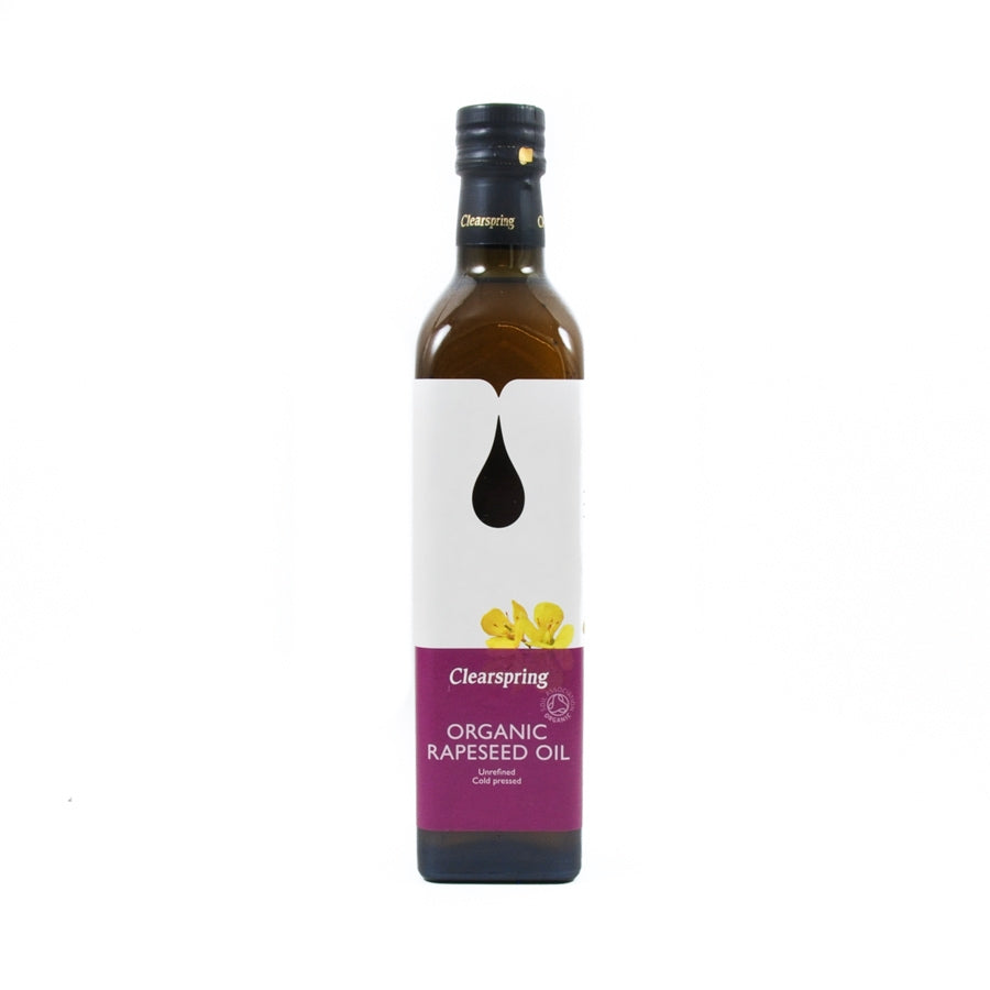 Clearspring Organic Rapeseed Oil 500ml Ingredients Oils & Vinegars